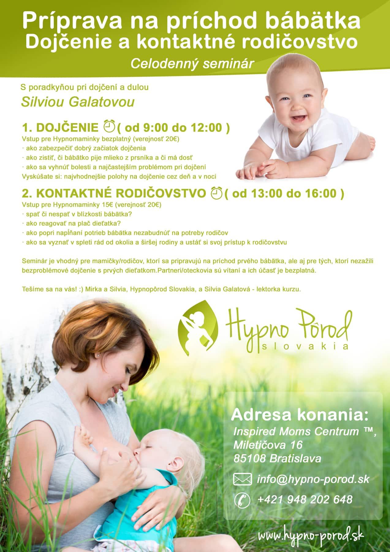 Dojcenie a kontaktne rodicovstvo